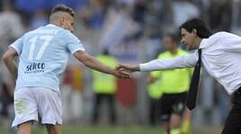 Lazio, Inzaghi: «Niente calcoli: De Vrij, Immobile e i tifosi ci porteranno in Champions»