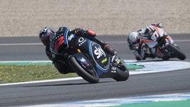Moto2 Francia, Bagnaia in pole: è la prima in carriera