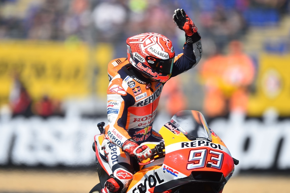 MotoGp Francia: Marquez davanti a tutti nel warm up, Rossi 5° - Corriere dello Sport
