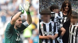 Juventus: standing ovation per Buffon, anche Ilaria D'amico in campo