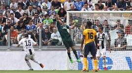 Serie A Juventus-Verona 2-1, il tabellino