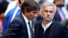 FA Cup: Conte e Mourinho, stretta di mano prima della finale