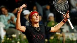 Internazionali d'Italia, Zverev in finale: Cilic sconfitto, ora c'è Nadal