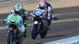 Moto3 Francia: Di Giannantonio davanti a tutti ma penalizzato, vince Arenas