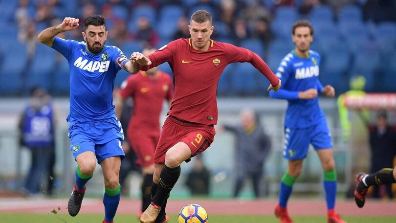 Serie A Sassuolo-Roma, formazioni ufficiali e tempo reale alle 20.45. Dove vederla in tv
