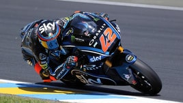 Moto2 Francia, Bagnaia domina e allunga in classifica