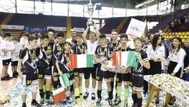 Volley: Colombo Genova Campione d'Italia Under 14 Maschile