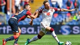 Serie A Genoa-Torino 1-2, il tabellino