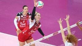 Volley: A1 Femminile, Michelle Bartsch da Busto a Novara