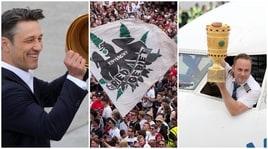 Festa a Francoforte, l'Eintracht torna con la Coppa