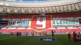 «Da bambino a leggenda», l'inchino dell'Atletico Madrid a Torres