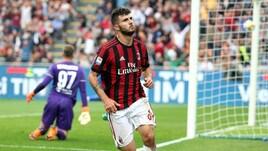 Serie A Milan-Fiorentina 5-1, il tabellino