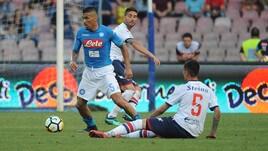 Serie A Napoli-Crotone 2-1, il tabellino