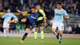 Serie A Lazio-Inter 2-3, il tabellino