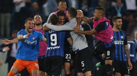 Lazio-Inter 2-3: Vecino regala la Champions a Spalletti