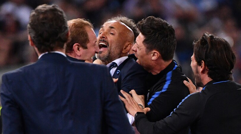 I meriti di Spalletti, gli errori della Lazio