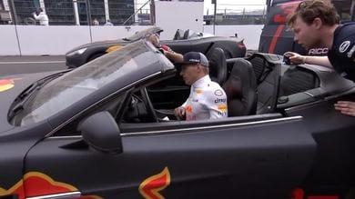 Ricciardo, quando l'esibizione va in testacoda