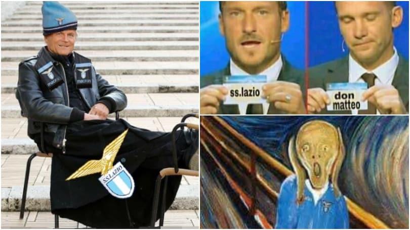 La Lazio perde con l'Inter e saluta la Champions: il web non perdona