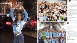 Immobile e Jessica, orgoglio Lazio e stoccata alla Roma:«I trofei tocca vincerli»