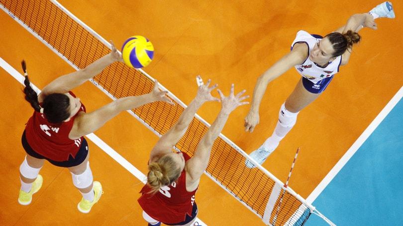 Volley: Volleyball Nations League: azzurre domani sfidano la Russia