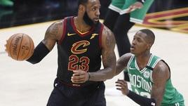 NBA, scende a 1,75 la quota dei Cavs