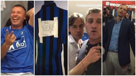 Da Cassano a Gattuso, da Allegri a Inzaghi: è Vieri show su Instagram