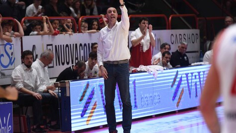 Basket Serie A, Sassari riparte da Vincenzo Esposito