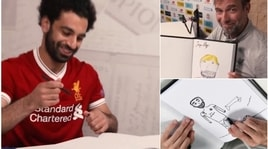 Real Madrid-Liverpool: la finale a colpi di... autoritratti