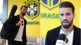 """Elicottero e chitarra: Alisson è la """"rockstar"""" del Brasile"""