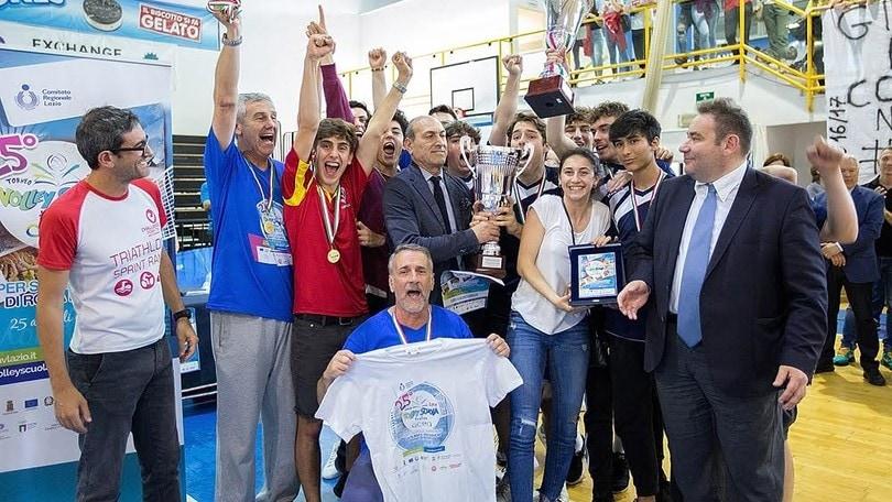 Volley Scuola: nella categoria Junior Campioni Virgilio e Giordano Bruno