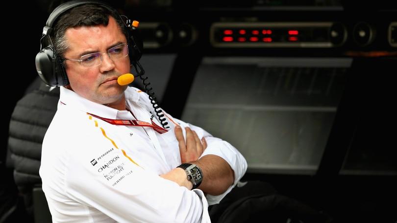 F1 McLaren, Boullier: «Finire la gara è il primo passo»