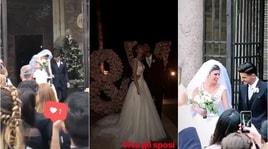 Roma, matrimonio social per Pellegrini e Veronica: ecco tutte le stories dei compagni