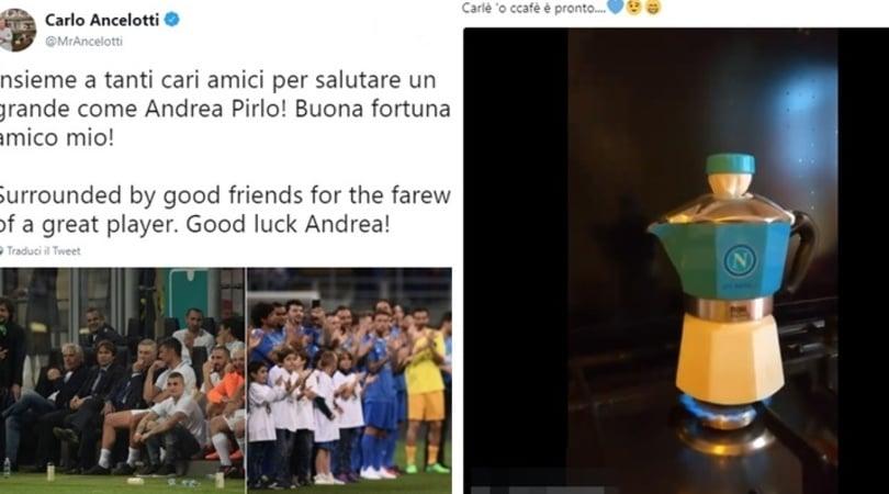 Napoli, quanti messaggi dai tifosi per Ancelotti