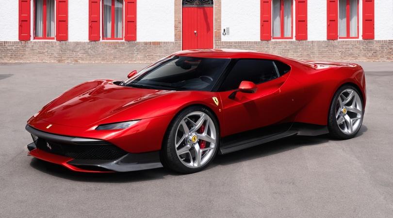 Ferrari SP38, esemplare unico e omaggio alle icone Rosse