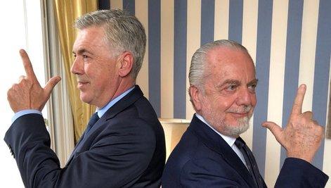 Ancelotti è il nuovo allenatore del Napoli