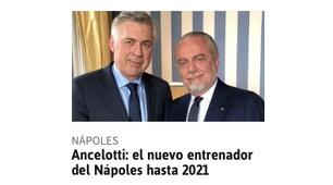 Ancelotti al Napoli fa il giro d'Europa