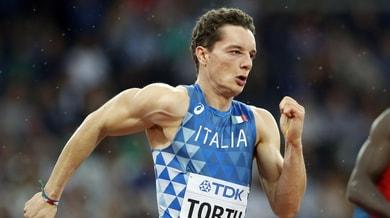 Atletica, Tortu si migliora: è secondo solo a Mennea