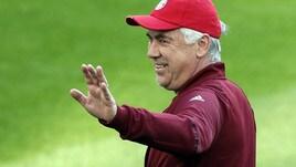Serie A, con Ancelotti scende la quota scudetto del Napoli