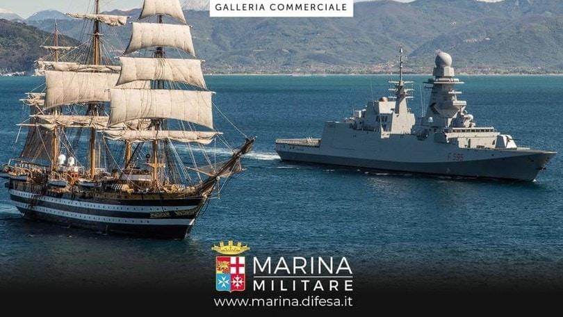 La Marina Militare sbarca a Porta di Roma