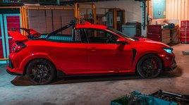 Honda Civic Type R Project P: il pick-up per trasporti eccezionali