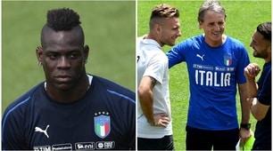 Mancini, parte l'avventura azzurra: le foto del primo allenamento