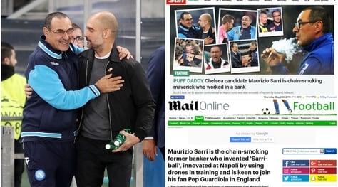 Chelsea, è già Sarri-mania: l'agente a Londra per trattare