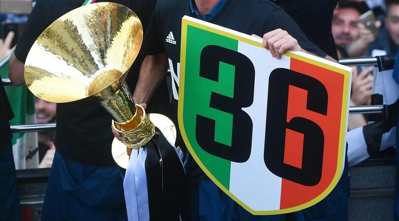 La Procura di Napoli apre un fascicolo sui 36 scudetti della Juventus