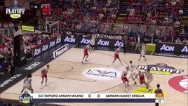 EA7 Emporio Armani Milano-Germani Basket Brescia G1