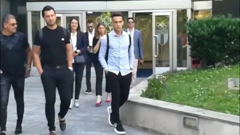 Inter, Lautaro Martinez termina le visite mediche
