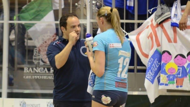 Volley: A2 Femminile, Napolitano sulla panchina di Soverato