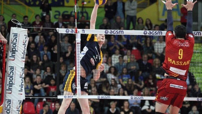 Volley: Superlega, Stephen Maar da Verona a Milano