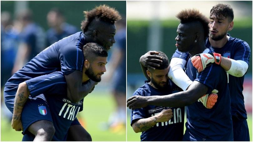 Balotelli si riprende l'Italia: che intesa con Insigne!