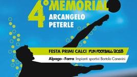 """Sabato e domenica tutti in campo per il """"4° Memorial Arcangelo Peterle"""""""