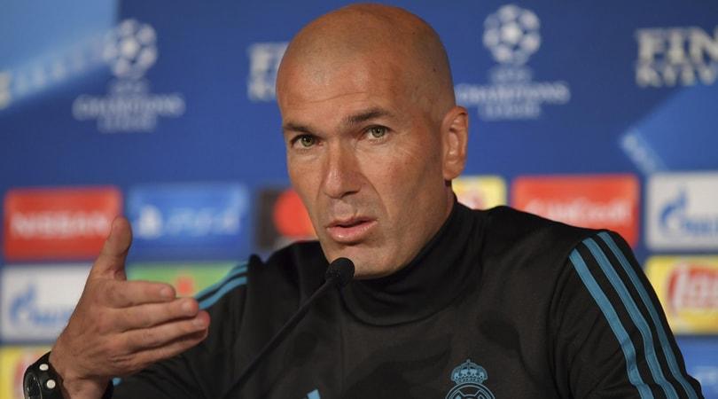 Champions, Zidane: «Real non è favorito, serve impresa col Liverpool»